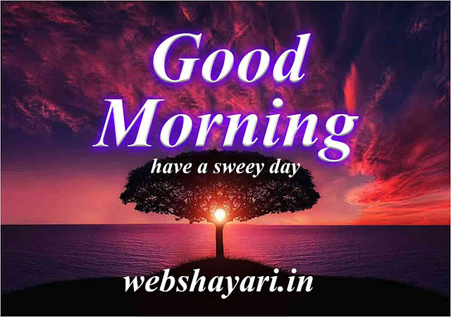 good morning image with shayari hd