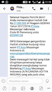 MEMBONGKAR  Penipuan via Chat BBM