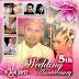Desain Foto Profil Wedding Anniversary ke 5