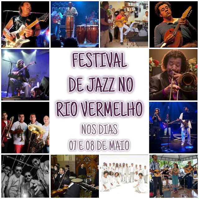 Festival de Jazz em maio no Rio Vermelho