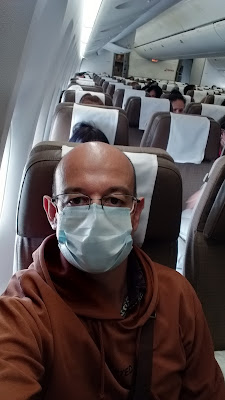 Quarantäne Flug Thai Airways 2020