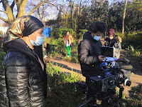 London film crew