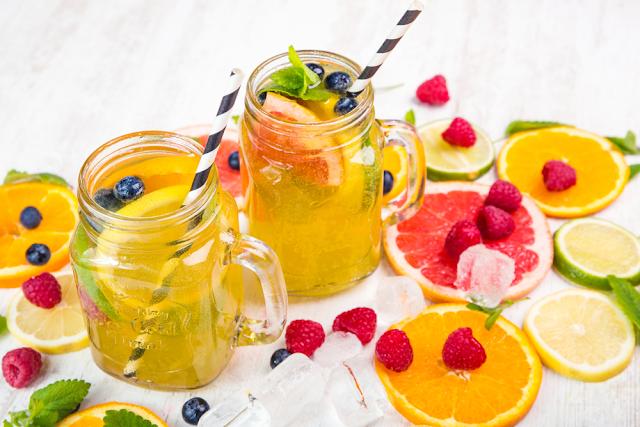 وصفات لمشروب الديتوكس لإنقاص الوزن