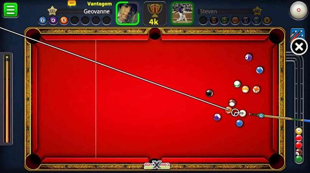 تحميل لعبة البلياردو 8 ball pool مهكرة جاهزة للاندرويد اخر اصدار برابط واحد