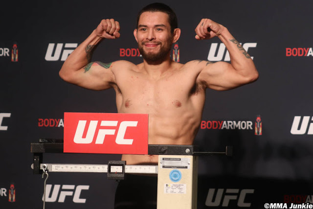Ray Borg UFC On ESPN+ 29 Weigh In