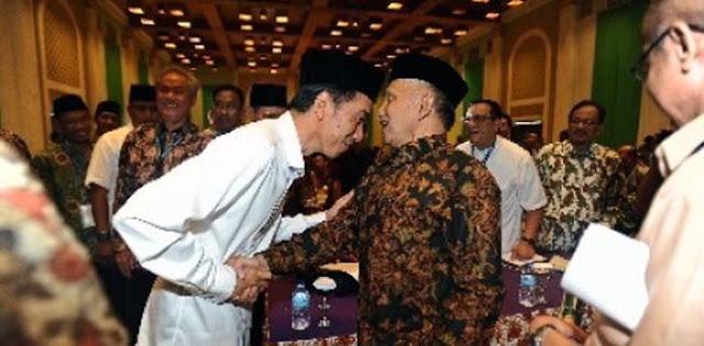 PAN: Jokowi dan Amien Bisa Bertemu Pertimbangkan Dukung Petahana