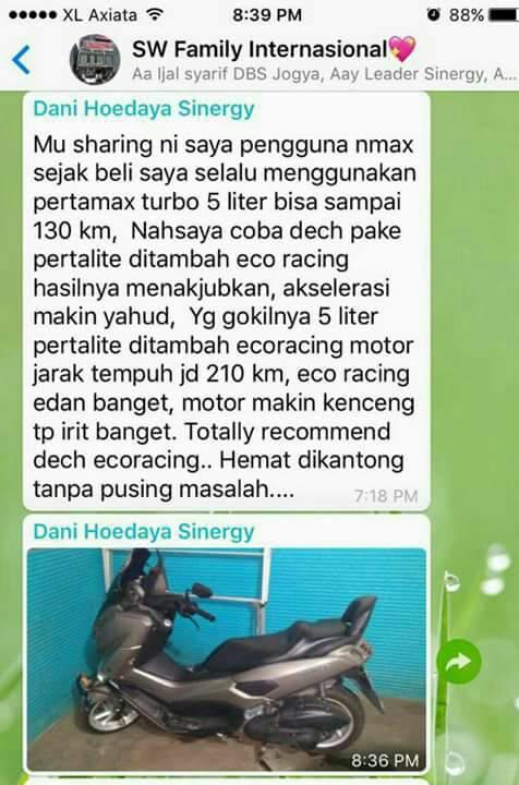 Agen Stokis Eco Racing| 085842974408