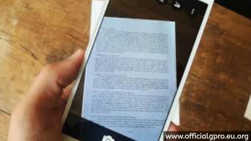 Cara Scan Dokumen Menggunakan HP Android