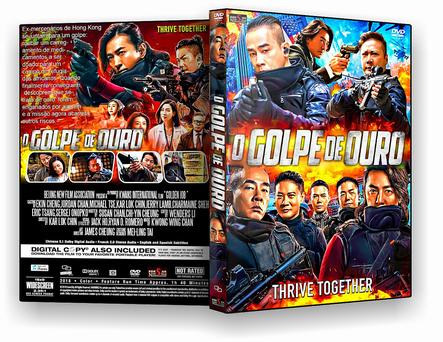 DVD O GOLPE DE OURO - 2019 - ISO