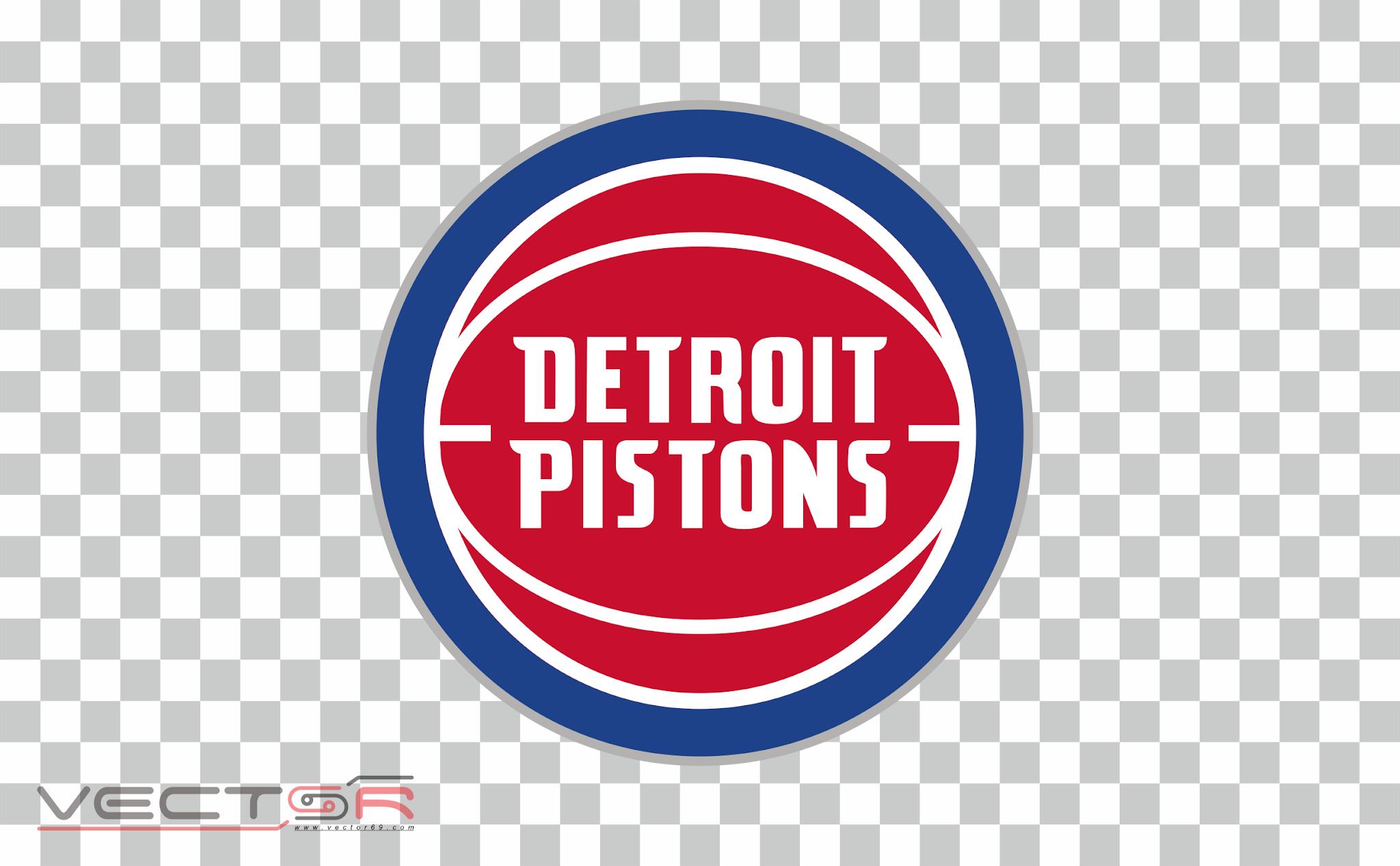 Detroit Pistons Logo - Download .PNG (Portable Network Graphics) Transparent Images