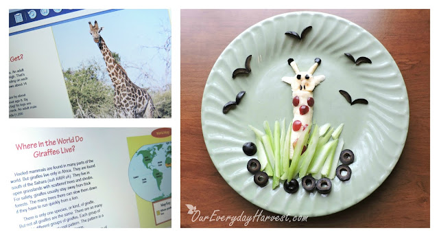 Giraffe Snack, Read and Play