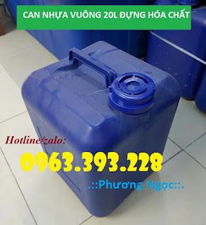 Can nhựa vuông dày 20L, can nhựa HDPE 12e6b56b799b9fc5c68a