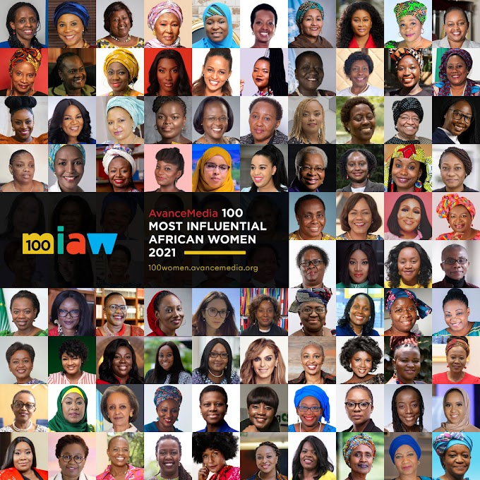 Avance Media announces 2021 100 Most Influential African Women list