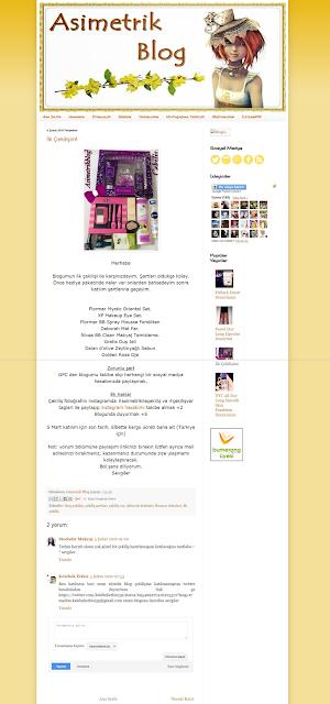 eski blog tasarım asimetrik blog