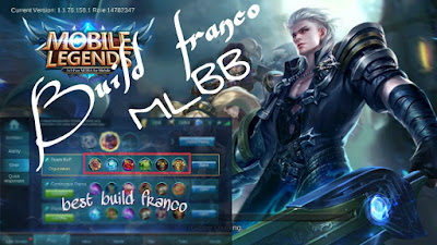 Build franco mobile legends