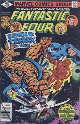 Fantastic Four #211, Terrax