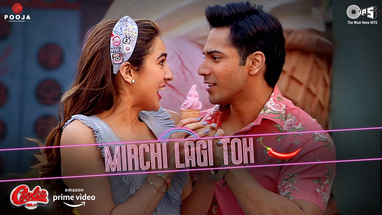 Mirchi Lagi Toh Lyrics Coolie No 1