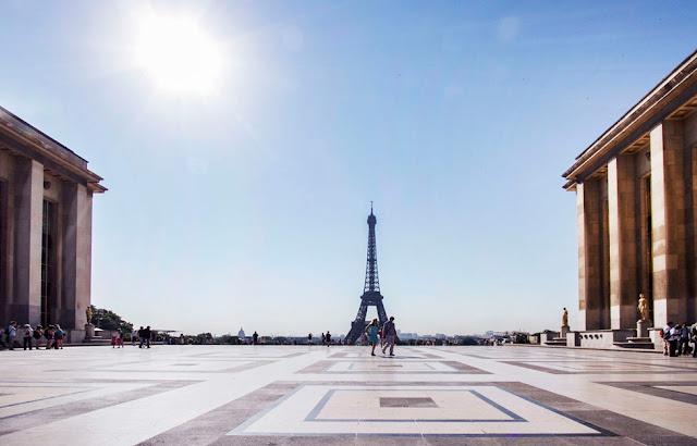 Roteiro de 5 dias na França: Trocadero em Paris