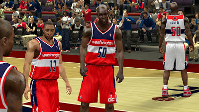 NBA 2K13 Washington Wizards Jersey Patch