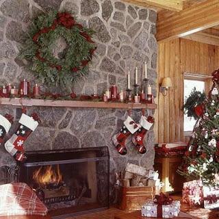 Chimeneas navide as ideas para decorar dise ar y for Camino finto fai da te natale