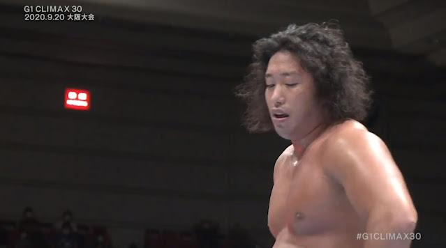 Tsuji Yota vs. Gabriel Kidd at G1 Climax 30