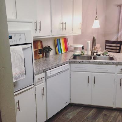 white kitchen, farmhouse kitchen, modern kitchen, Lyndi's kitchen