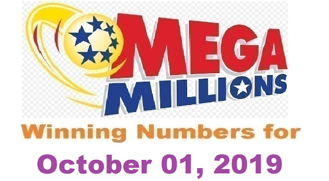 Mega Millions Winning Numbers for Tuesday, October 01, 2019
