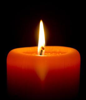 candela arancione