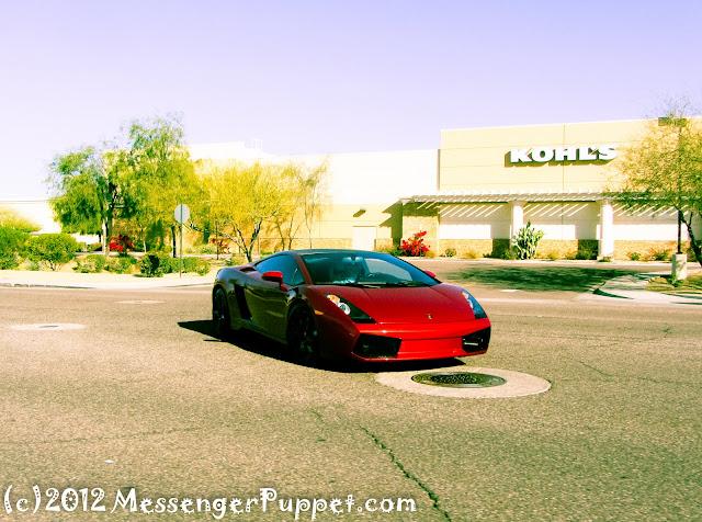 Lamborghini Gallardo at Kohl's