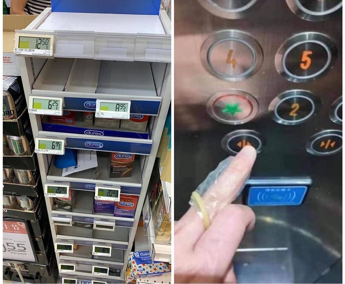 Elevator, Condom