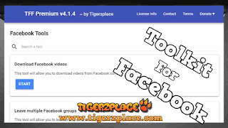 Toolkit For Facebook Latest Version - TFF Premium v4.1.4 (Android Supported)