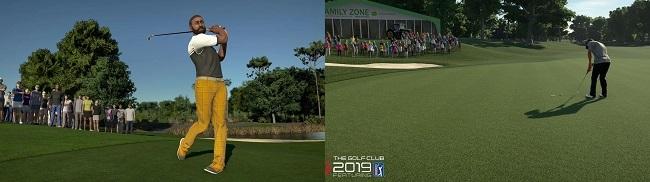 PGA Tour 2K21 vs The Golf Club 2019 Graphics