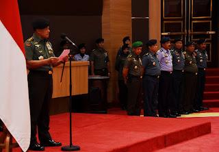 Panglima TNI : Jaga Reputasi dan Kehormatan Pati TNI