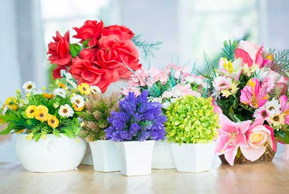 Enrich Your Interior With Artificial Flowers