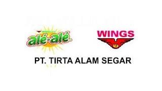 Lowongan Kerja SMK/SMA Terbaru PT TIRTA ALAM SEGAR, Tbk (PT. TAS)
