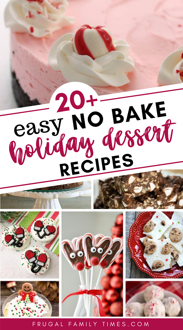 20 Easy No Bake Christmas Treats Frugal Family Times