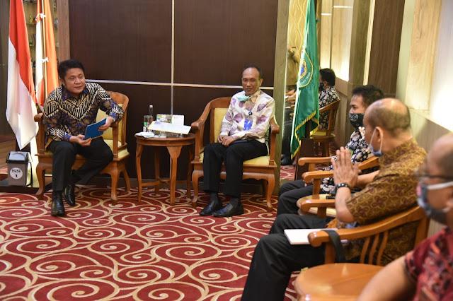 Gubernur dan BPKP Siap Kawal Bantuan Modal Kerja Bagi UMKM Sumsel