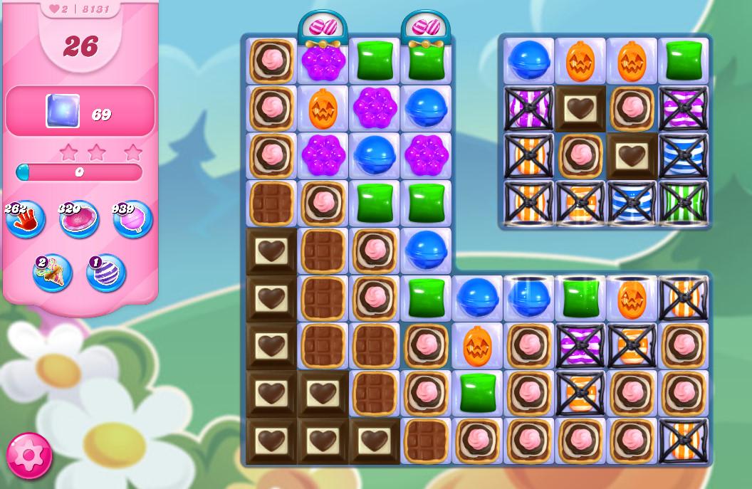 Candy Crush Saga level 8131