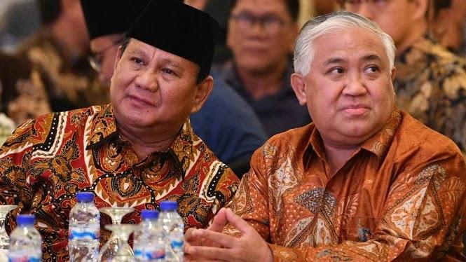 Sindiran Din Syamsuddin Usai Dilaporkan GAR Alumni ITB