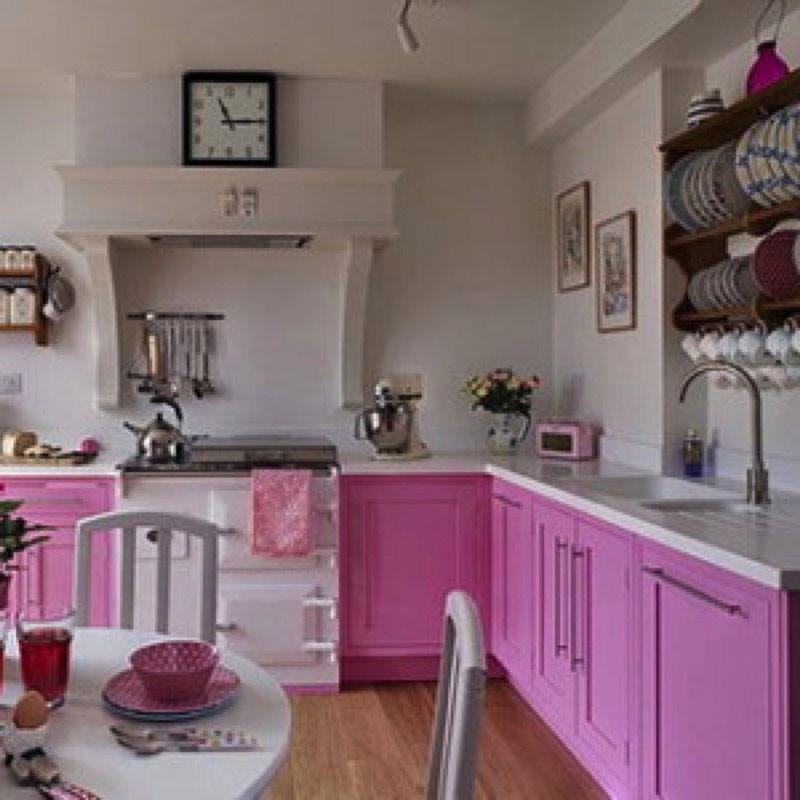 decoration and ideas pink kitchen decoration On kitchen ideas pink