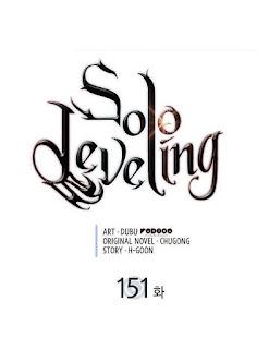 Update! Baca Manga Solo Leveling Chapter 151 Full Sub Indo