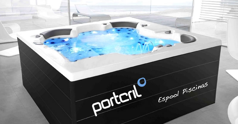 Spa model Prime de Portcril de venta en Espool Piscinas, tienda oficial de Spas Portcril