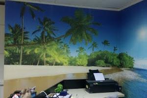 Harga Upah Pasang Wallpaper Dinding per Rol / Meter
