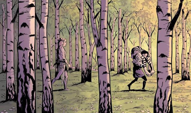 vei, Sara Elfgren, Karl Johnsson, komiks, non stop comics, recenzja, wikingowie, vikings