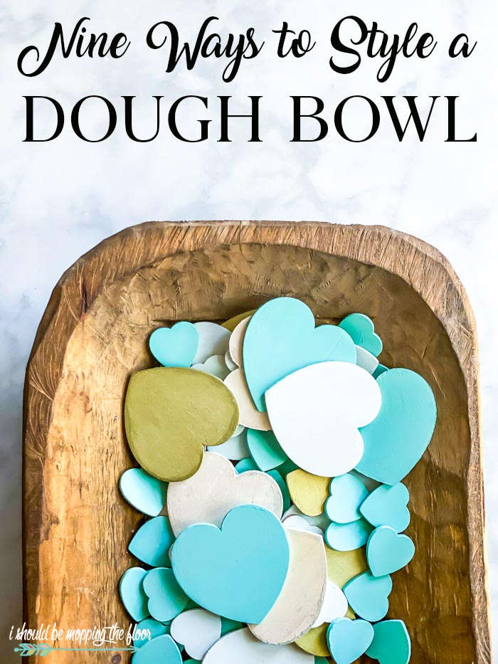 Styling Your Wooden Dough Bowl