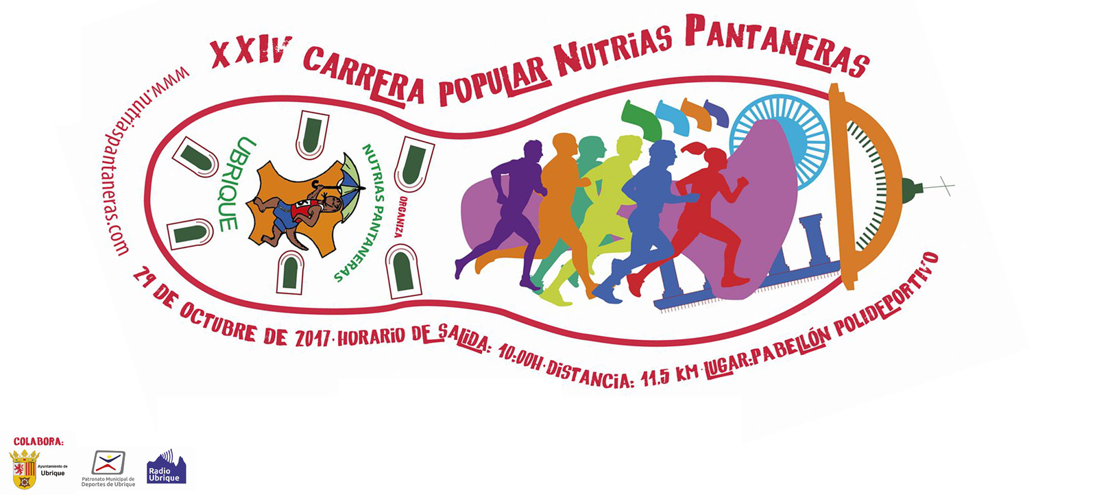 Nutrias Pantaneras - Carrera Popular 2017