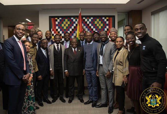 """""""Use Africa's Wealth To Empower Africa's Youth"""" – President Akufo-Addo"""