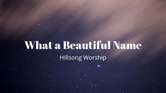 Lirik dan Kunci Lagu What A Beautiful Name ( Hillsong