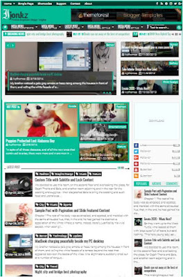 Ijonkz Adsense Responsive Blogger Templates Without Footer Credit