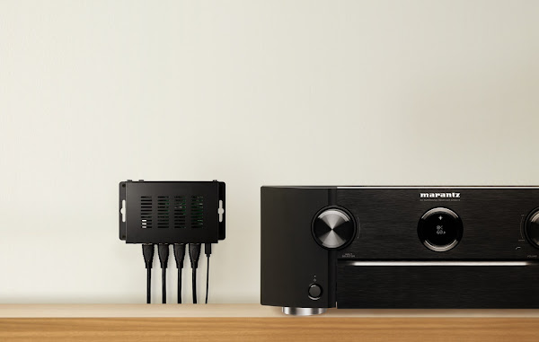 Marantz introduz switcher HDMI de três portas VS3003